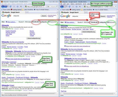 google-current-new-caffeine-comparison
